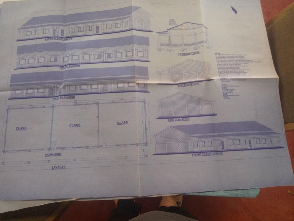 Proposed Kindergarten block
