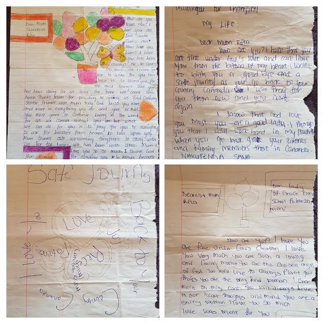 Letter from the school children