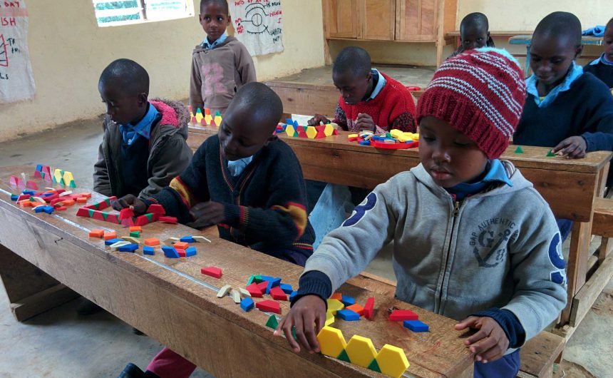 Our Lady of Grace Classroom with students learning
