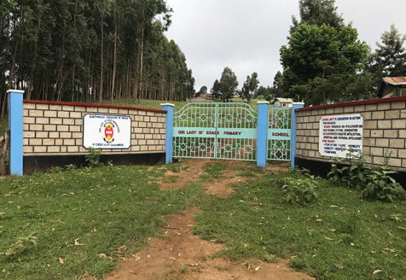 Our Lady of Grace Children's Home and School Gate