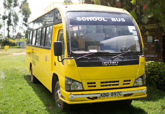Our Lady of Grace School Bus