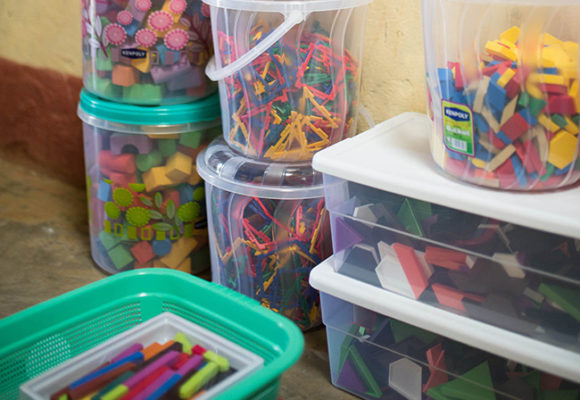 School Supplies for the students at Our Lady of Grace Children's Home and School
