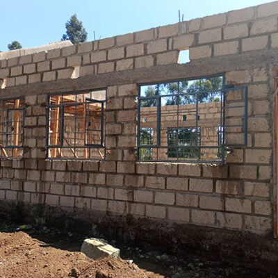 Windows Being Framed on school construction project AGFL