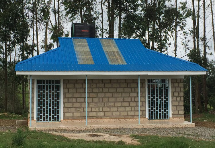 Washroom built for Our Lady of Grace Home and School