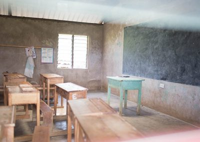 Inside a classroom at Our Lady of Grace School