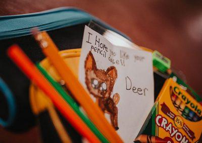 Drumheller Pencil Case Donation