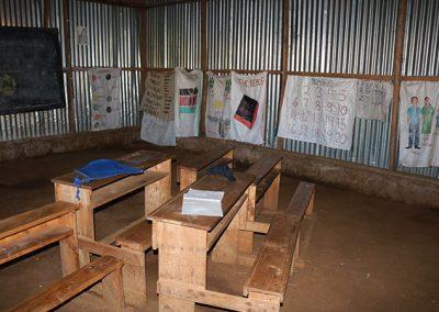 Current Kindergarten classroom being replaced
