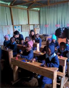 Kindergarten Students at Our Lady of Grace School Kenya